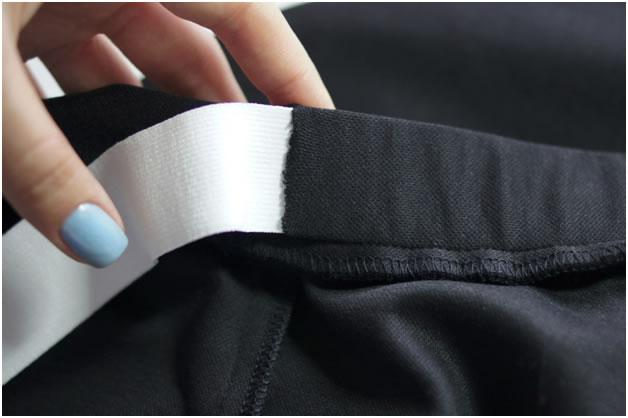Как пришить пояс к юбке с резинкой пошагово